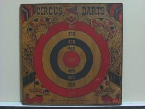 1940's Circus Dart Game