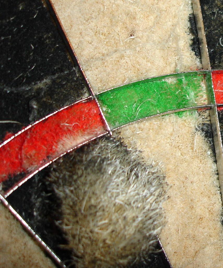 Uszkodzenie tarczy dart- Adrian7