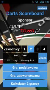 Darts Scoreboard- grafika
